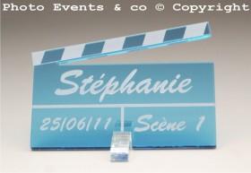 Marque Place Cinéma 3 - Clap - Cadeau personnalise personnalisable - 6