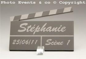 Marque Place Cinéma 3 - Clap - Cadeau personnalise personnalisable - 7