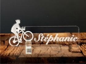Marque Place Cyclisme VTT Gravure Events - Cadeau personnalisé - 1
