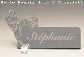 Marque Place Football 2 - Cadeau personnalise personnalisable - 6