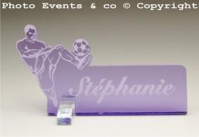 Marque Place Football 2 - Cadeau personnalise personnalisable - 12