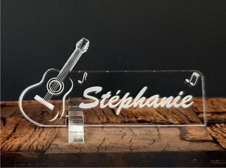 Marque Place Guitare - Cadeau personnalise personnalisable - 1