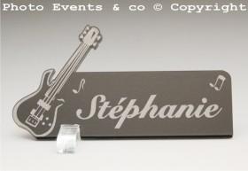 Marque Place Guitare Electrique Gravure Events - Cadeau personnalisé - 7