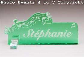 Marque Place Musique - Cadeau personnalise personnalisable - 12