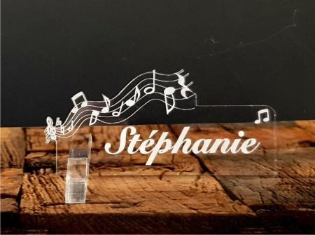 Marque Place Musique - Cadeau personnalise personnalisable - 1