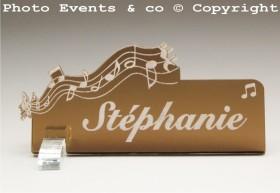 Marque Place Musique - Cadeau personnalise personnalisable - 6