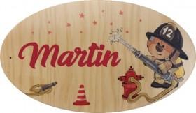 Plaque de Porte en bois Modèle 1 - Cadeau personnalise personnalisable - 1