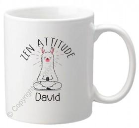 Mug Zen Attitude - Cadeau personnalise personnalisable - 1
