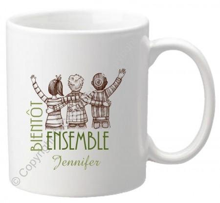 Mug - Bientôt Ensemble Gravure Events - Cadeau personnalisé - 1