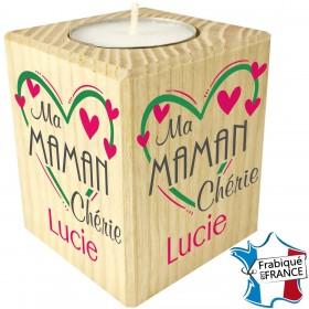 Porte Bougie personnalisable Ma Maman Chérie (mod9) - Cadeau personnalise personnalisable - 1