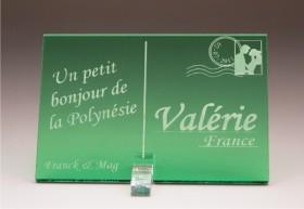 Marque Place Carte Postale - timbre mariés - Cadeau personnalise personnalisable - 7