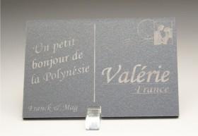 Marque Place Carte Postale - timbre mariés - Cadeau personnalise personnalisable - 13
