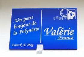 Marque Place Carte Postale - timbre mariés - Cadeau personnalise personnalisable - 3
