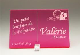 Marque Place Carte Postale - timbre mariés - Cadeau personnalise personnalisable - 8