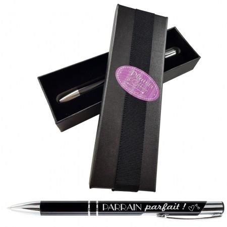 Stylo - Parrain Parfait - Cadeau personnalise personnalisable - 1