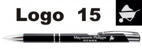 Stylo Publicitaire personnalisé avec LOGO - Cadeau personnalise personnalisable - 12