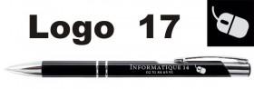 Stylo Publicitaire personnalisé avec LOGO - Cadeau personnalise personnalisable - 14