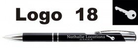 Stylo Publicitaire personnalisé avec LOGO - Cadeau personnalise personnalisable - 15