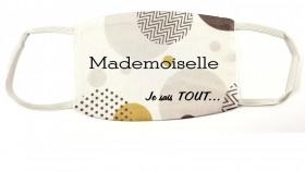 Masque Personnalisé Mod.E - Cadeau personnalise personnalisable - 1