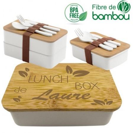 Boite à Lunch Mod4 - Cadeau personnalise personnalisable - 1