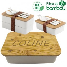 Boite à Lunch Mod5 - Cadeau personnalise personnalisable - 1