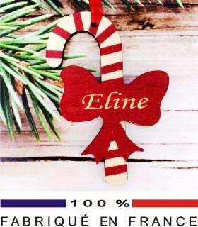 Déco de Sapin - Sucre d'Orge - Cadeau personnalise personnalisable - 1
