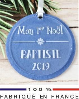 boule Mon 1er Noel (feut.6) - Cadeau personnalise personnalisable - 1