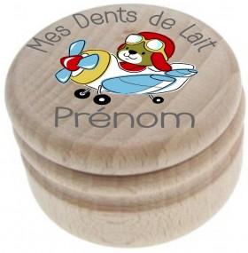 Boite à Dents de Lait (mod.17) - Cadeau personnalise personnalisable - 4