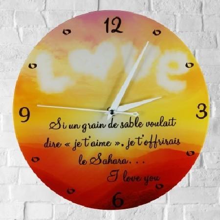 Horloge Personnalisée (H.P) - Cadeau personnalise personnalisable - 1
