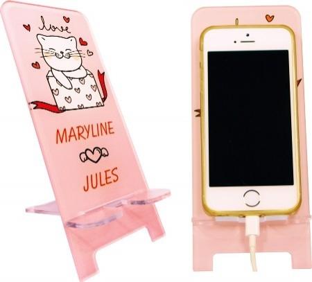 Support Téléphone - Mod.SvP - Cadeau personnalise personnalisable - 1
