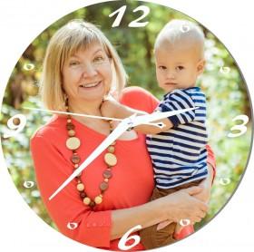 Horloge personnalisée pour mamie