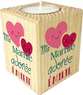 Bougie personnalisée Ma Mamie adorée