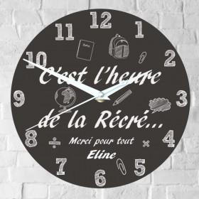 Horloge Personnalisée pour Maître & Maîtresse - Cadeau personnalise personnalisable - 1