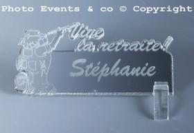 Marque Place Vive la Retraite - Peintre - Cadeau personnalise personnalisable - 4