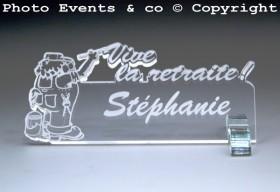 Marque Place Vive la Retraite - Peintre - Cadeau personnalise personnalisable - 7