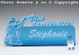 Marque Place Vive la Retraite - Peintre - Cadeau personnalise personnalisable - 8