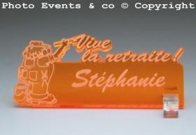 Marque Place Vive la Retraite - Peintre - Cadeau personnalise personnalisable - 11