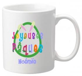 .Mug Pâques Lapin 3 - Cadeau personnalise personnalisable - 1
