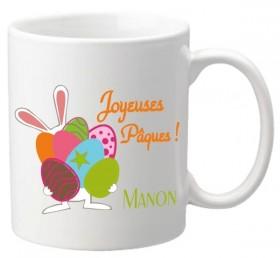 .Mug Pâques Lapin 2 - Cadeau personnalise personnalisable - 1