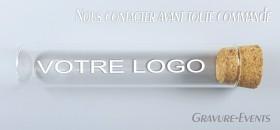 Éprouvette Logo - Cadeau personnalise personnalisable - 1