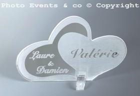 Marque Place Coeurs Enlacés - Cadeau personnalise personnalisable - 13