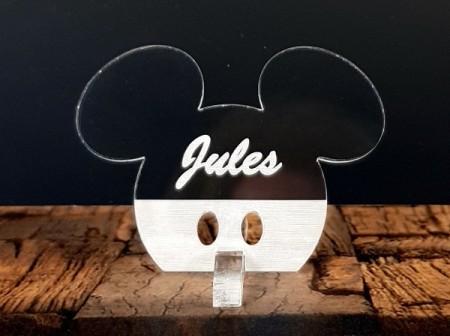 Marque Place Mouse Garçon - Cadeau personnalise personnalisable - 1