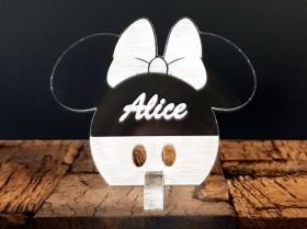 Marque Place Mouse Fille - Cadeau personnalise personnalisable - 1