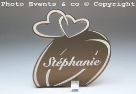 Marque Place Alliances Seules personnalisé personnalisable - decoration table mariage anniversaire de mariage - 2