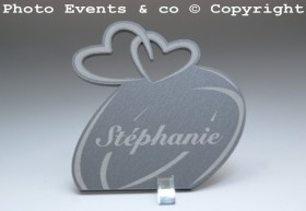 Marque Place Alliances Seules personnalisé personnalisable - decoration table mariage anniversaire de mariage - 4