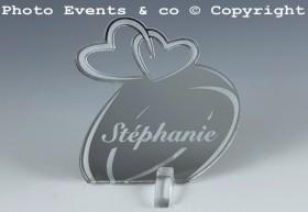 Marque Place Alliances Seules personnalisé personnalisable - decoration table mariage anniversaire de mariage - 7