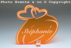 Marque Place Alliances Seules personnalisé personnalisable - decoration table mariage anniversaire de mariage - 9