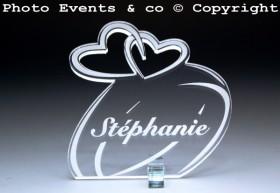 Marque Place Alliances Seules personnalisé personnalisable - decoration table mariage anniversaire de mariage - 1