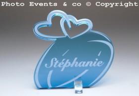 Marque Place Alliances Seules personnalisé personnalisable - decoration table mariage anniversaire de mariage - 11