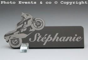 Marque Place Moto de course personnalise personnalisable - decoration mariage anniversaire - theme moto - 10